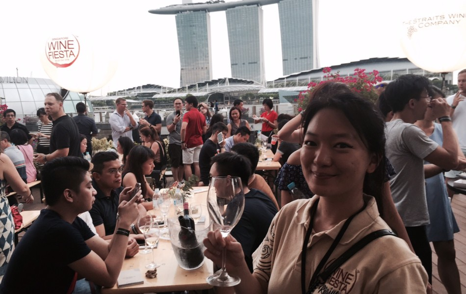 PLUMM Participates at the Wine Fiesta Singapore 2016